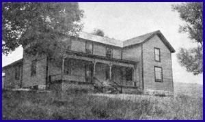 The farmhouse at Wilson's Ferniegair Farm