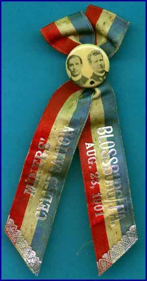 Miners Celebration Blossburg 1901