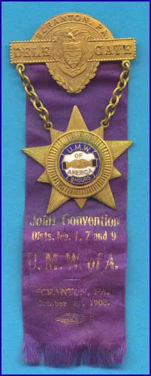 UMWA Convention 1908