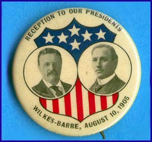 Reception to our Presidents, 1905