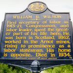 William B. Wilson sign