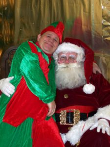 Gordy the Elf and Wellsboro Santa