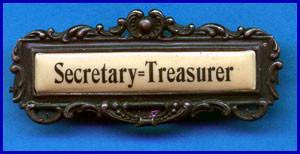 William B. Wilson Secretary - Treasurer